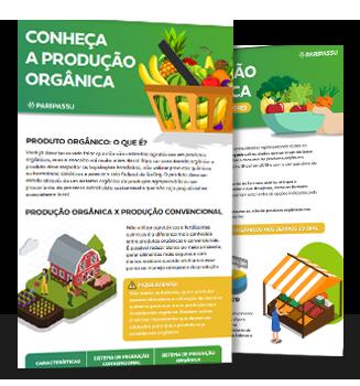 Infográfico Produção orgânica e perfil de consumidores