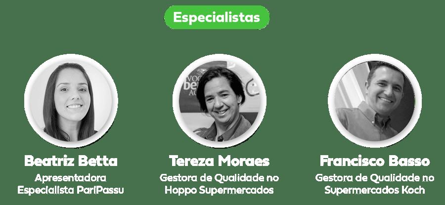 especialistas webinar PariPassu